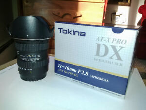 Tokina 11-16mm F/2.8 Aspherical PRO DX (for Canon)