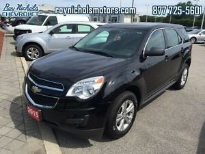 2015 Chevrolet Equinox LS  - Certified - Bluetooth -  SiriusXM -