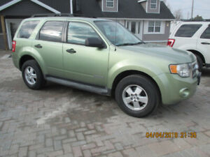2008 Ford Escape XLT SUV,  CERTIFIED