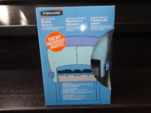 Never used Fiskars push and print stamp factory