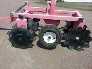 Aerator for ATV or lawn tractor