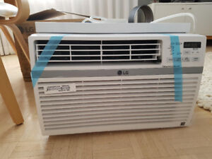 Brand new 8000 BTU LG air conditioner