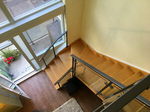 ** FURNISHED, 2-storey LOFT available for RENT in KING WEST **