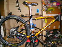 Spokes and Sprockets Bicycle service and used bike sales.
