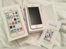 iPhone 5s gold 16gb boxed