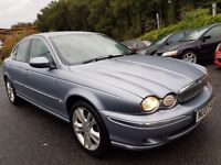 Jaguar X-Type 2.0D SE (blue) 2007