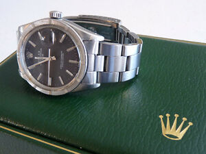 Authentique ROLEX OYSTER PERPETUAL DATE 1500