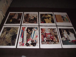 NORMAN ROCKWELL PAGES SUITABLE FOR FRAMING