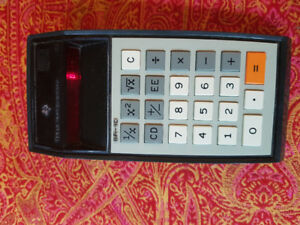 Vintage Texas Instruments Sr -10 calculator