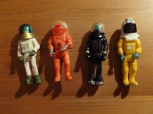 Lot 4 Anciens Astronaute Fisher Price Alien Space 375 368 326
