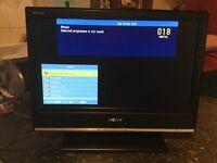 """Sony Bravia 20"""" tv with remote"""