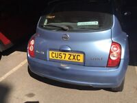 2008 Micra 4door 8stamps 4main dealer stamps fsh bargain quick sale very cheap cheapest economical