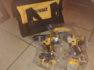 Brand new dewalt combo 20v max XR