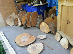 Wood slices, wedding center-pieces, coasters