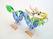Hand Blown Glass Dragon