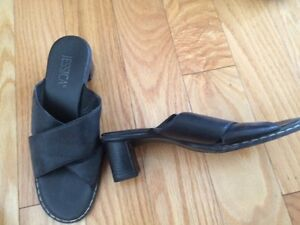 Size 6 black dress sandal