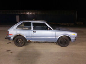 1983 Honda Civic non running project RARE!!!
