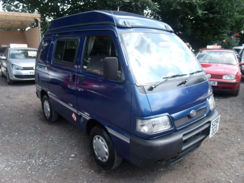 1998 Daihatsu Hijet 1.3 Campervan Conversion Pop Top 5