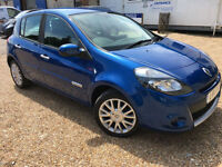 2011 '11' Renault Clio 1.5 DCi Dynamique Tom Tom. Diesel Manual £20 TAX. Px Swap
