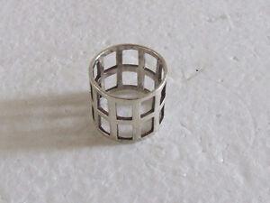 Sterling Silver stamped ring Size 8 London Ontario image 1