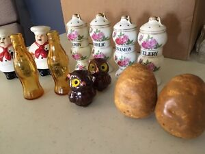 Over 350 pairs of Salt and Pepper collection