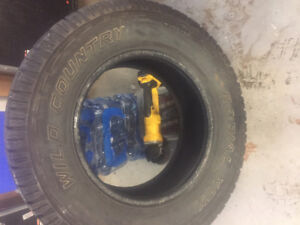 Wild Country Truck Tire