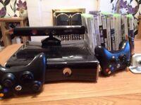 Xbox 360 Kinect plus games