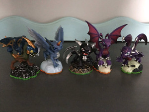 Skylandersfigurines  $ 5 each