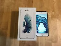 iPhone 6S Plus 64GB Factory Unlocked w/ leather case