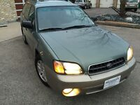 2003 Subaru Outback Symmetrical AWD Clean BC vehicle