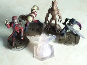 Disney Infinity 2.0 Guardians of the Galaxy & Spiderman Playsets