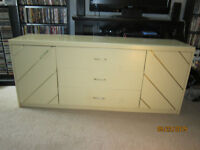 Large Spacious Dresser With Matching Mirror