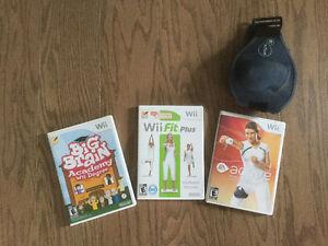 Wii balance board et jeux Wii