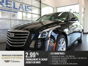 Cadillac CTS Sedan 4dr Sdn 2.0L Turbo - Cuir 2017