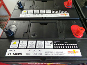 GROUP 31 COMMERCIAL BATTERY (1250CA)