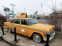 FOR SALE Yellow Checker NYC Taxi Cabs (1969 & 1978)