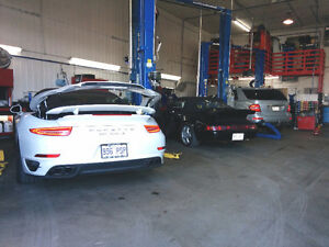 Mécanicien Porsche  65$/h et + mecaniqueexpert.com 450-281-1053