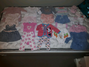 Baby girl 3, 6, 9 m clothes