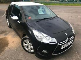 CITROEN DS3 1.6 VTi DSTYLE £28 WEEK NO DEPOSIT MP3/USB CRUISE A/C 3DR HATCH 2012