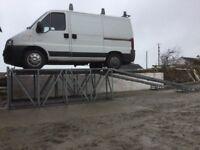 Car Wash Ramps Heavy Duty Galvanised