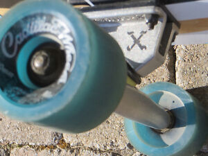 "Madrid 39"" Longboard - used very little West Island Greater Montréal image 4"