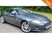 "2006 JAGUAR XK 4.2 COUPE 2D AUTO 294 BHP HUGE SPEC! 20"" ALLOYS+SAT NAV+PHONE!"