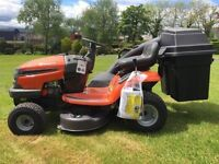 New Husqvarna ride on mower lawn mower