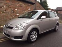 Toyota Verso 1.8 VVT-i T2 7 SEATER ONLY 66,000 MILES FROM NEW F.S.H