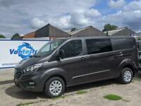 Ford Custom 320 L2H1 185PS Limited Crew van - Auto - Rear Cam