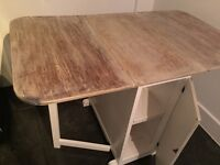 Shabby chic table with storage