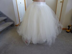 Ivory Tulle Skirts