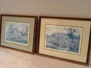 """Mitch Keirstead """" Harvest Shadows"""" and """"Rosegate"""""""