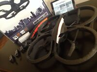 AR Drone 2.0 Package! 3 Batteries! 3 times more fun!