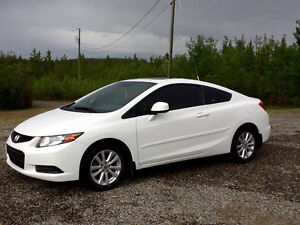 2012 Honda Civic EX-L Coupe (2 door)